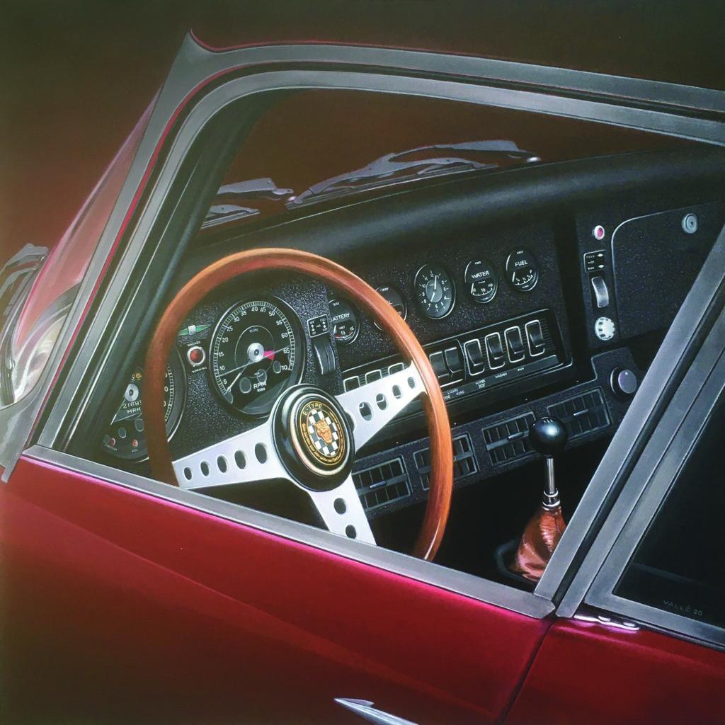 Jaguar Type E_voeux